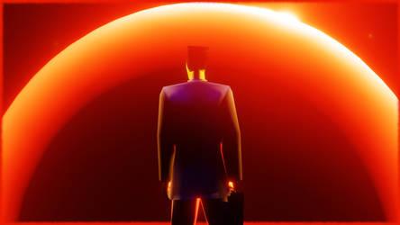 Illusive G-Man - Giant Star Half Life [Blender]