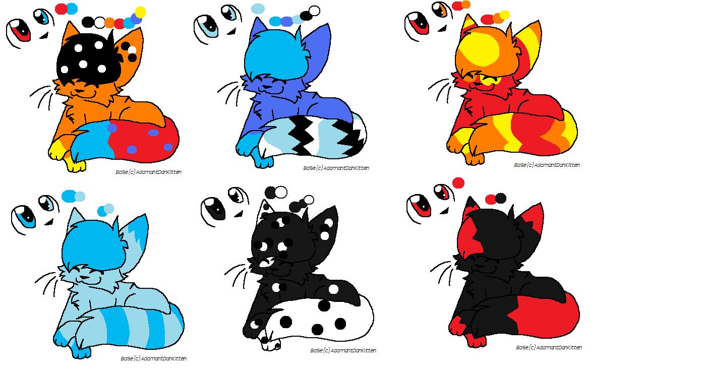 Cat Adoptibals by xXHopeAndIllusionXx