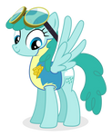 Medley as a lead pony in the academy