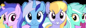 Background Ponies!