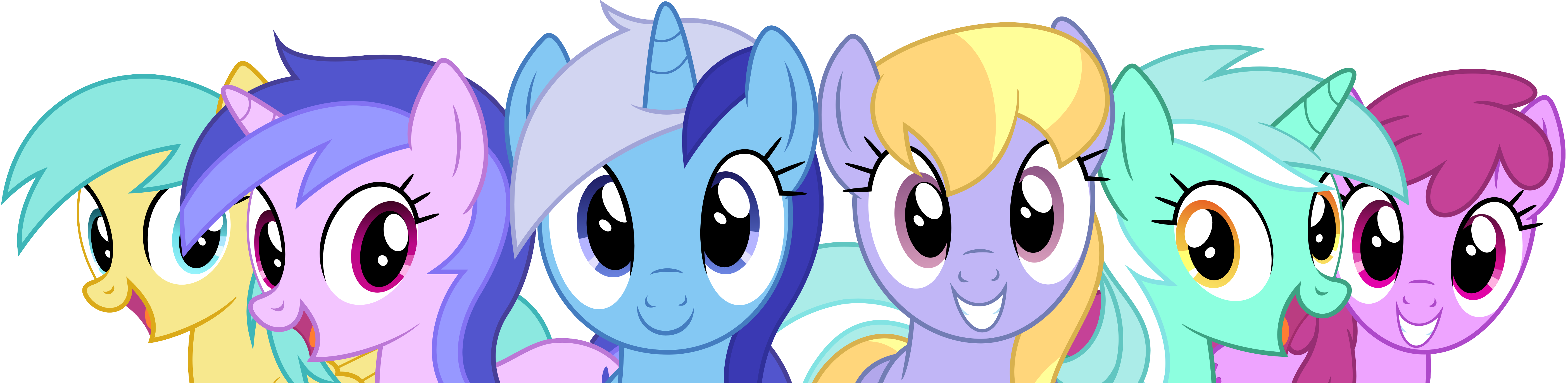 Background Ponies! by bluemeganium on DeviantArt # Sunshower Mlp_175524
