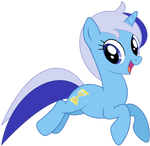 Minuette jumping as seen in 'Amending Fences'