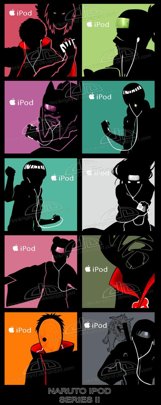 Naruto Ipod Series Ii By Mockingbyrd On Deviantart