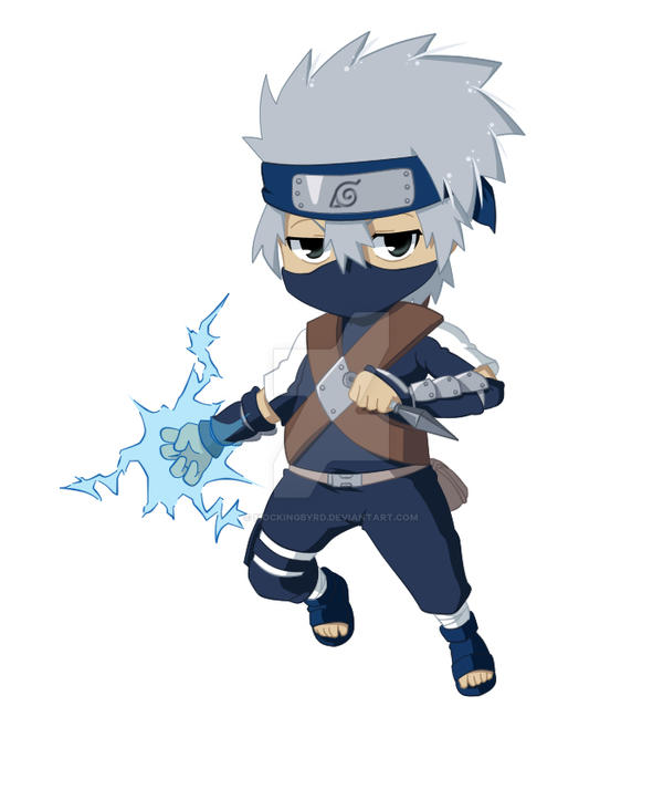 08-Kakashi Chibi by Mockingbyrd on DeviantArt