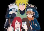 Team Minato + Kushina