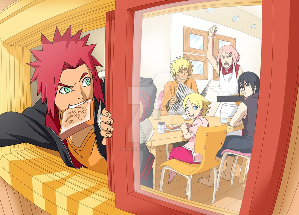 Uzumaki Household By Mockingbyrd On Deviantart