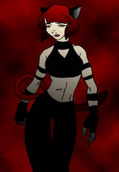 black plus red equal kewl