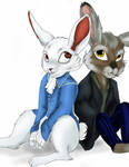 McTwisp and March hare - numas
