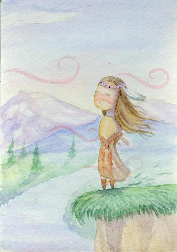 Wind Spirits by Veleri