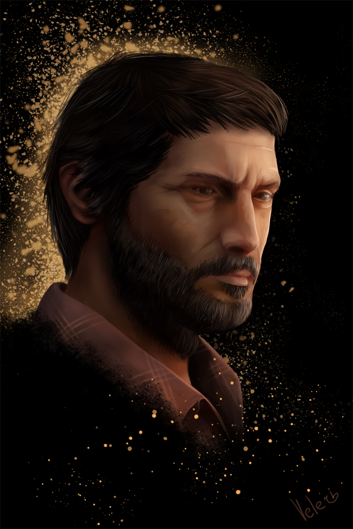 Joel. The Last of us by Veleri