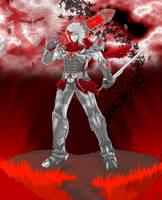 Nuvia Antares -The Dark Hero- by DarqTalon-Azel
