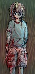 Llama's drawing 26 Zombie Scribble Or Idk by Kittyangelz3