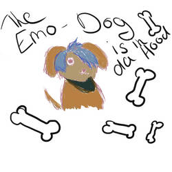 Emo Dogggggg by Bernd by Kittyangelz3