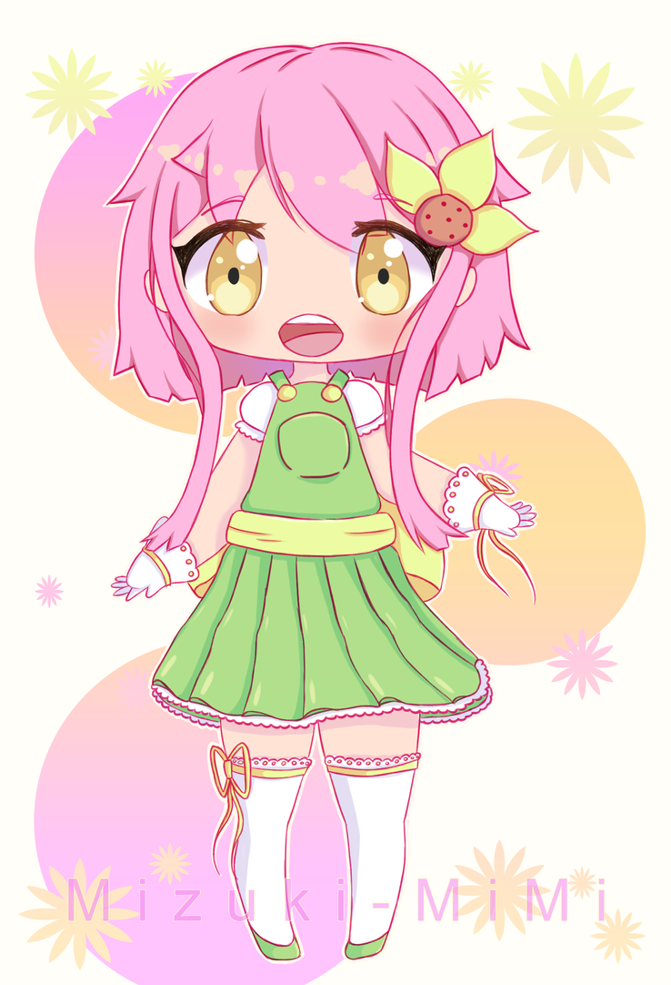 Magical Girl Flora by Mizuki-MiMi
