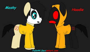 Masky and Hoodie in MLP
