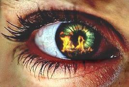 Burning eye by Asher46
