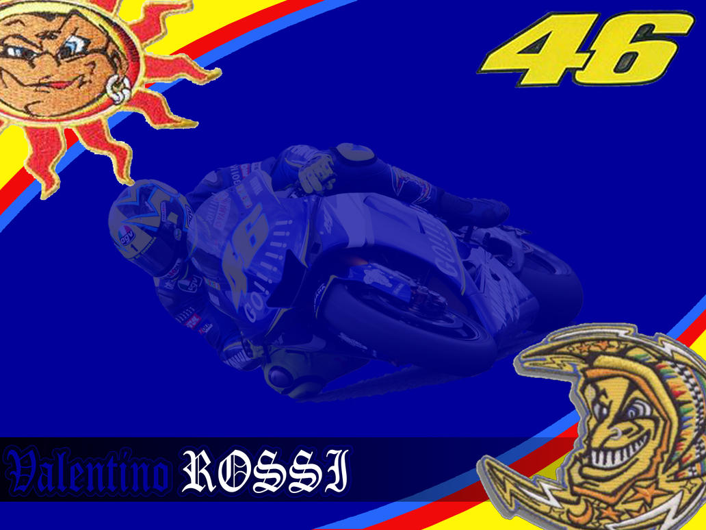 Valentino Rossi Wallpaper by Asher46
