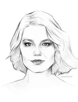 Custom sketch from photo