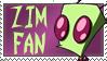 ZIM Fan Stamp