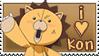 I Heart Kon Stamp by kuro-stamps