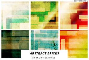 Abstract Bricks Icon Textures