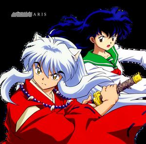 [Render #6] Inuyasha and Kagome