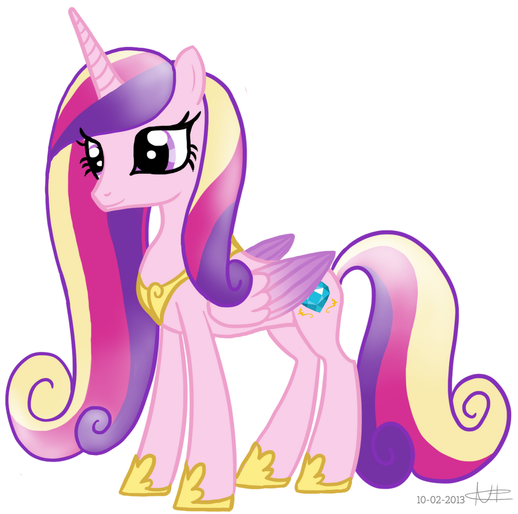 Princess Cadence By Pizzaniall On Deviantart Images Of Princess Cadence