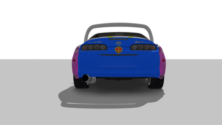 Showroom Assetto Corsa toyota trd supra turbo. by pikachu123446