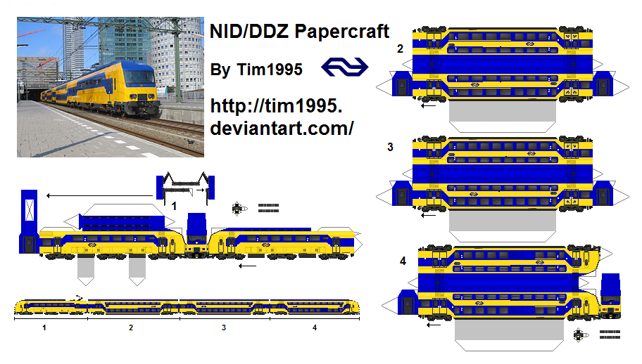Nid Ddz Papercraft By Tim1995 On Deviantart
