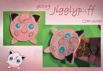 Jigglypuff Coin Purse