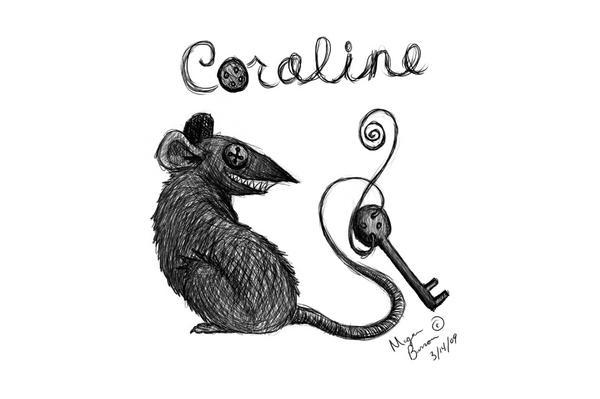 Coraline Rat By Punkrose On Deviantart