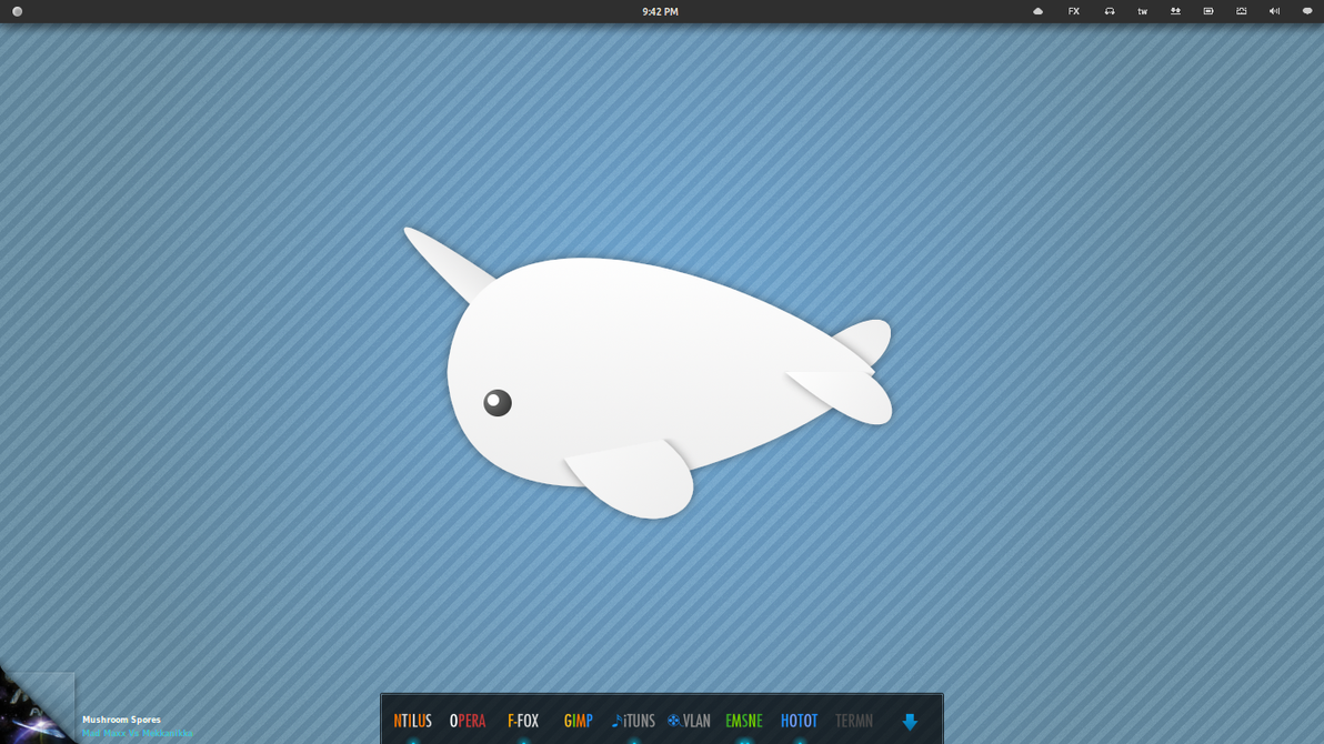 Minimal narwhal by 4rk4ng3l on deviantart - Cute narwhal wallpaper ...