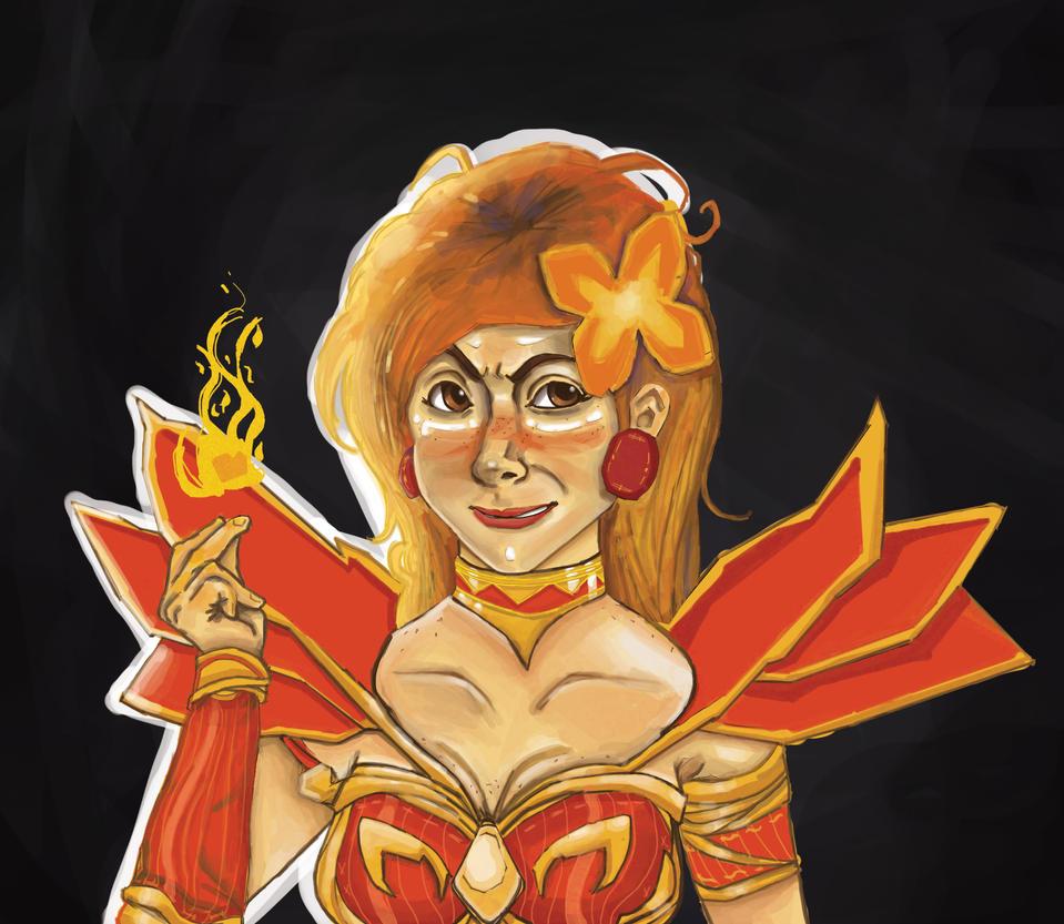 Lina The Slayer by JogoCII