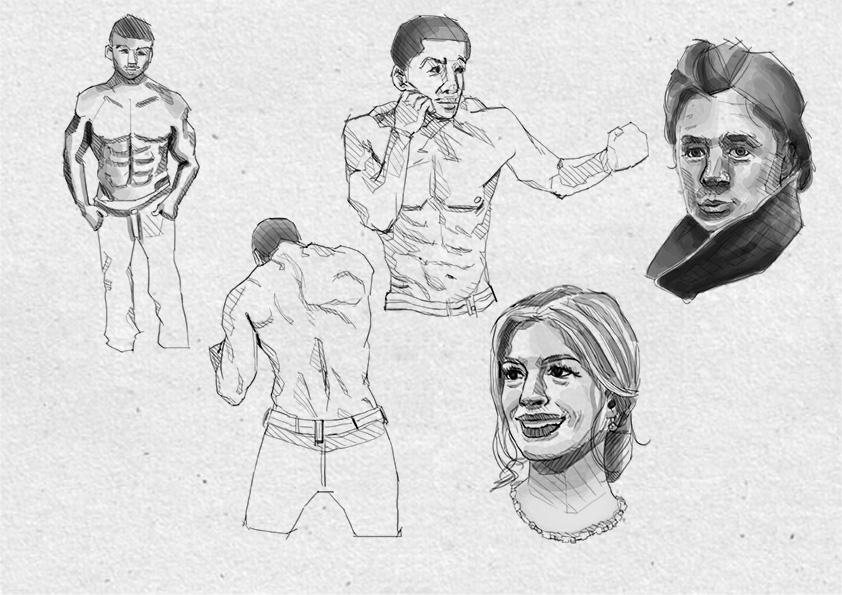 Sketch Studies-01 by JogoCII