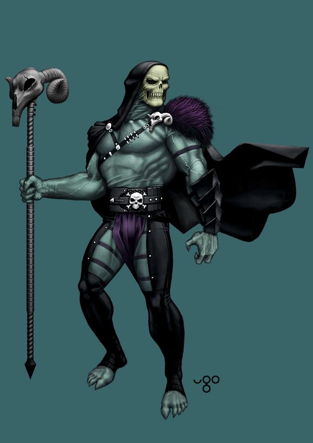 Skeletor by ugosantana