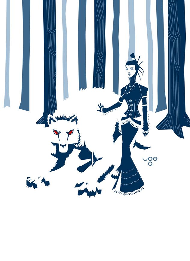 Wolf Woman by ugosantana