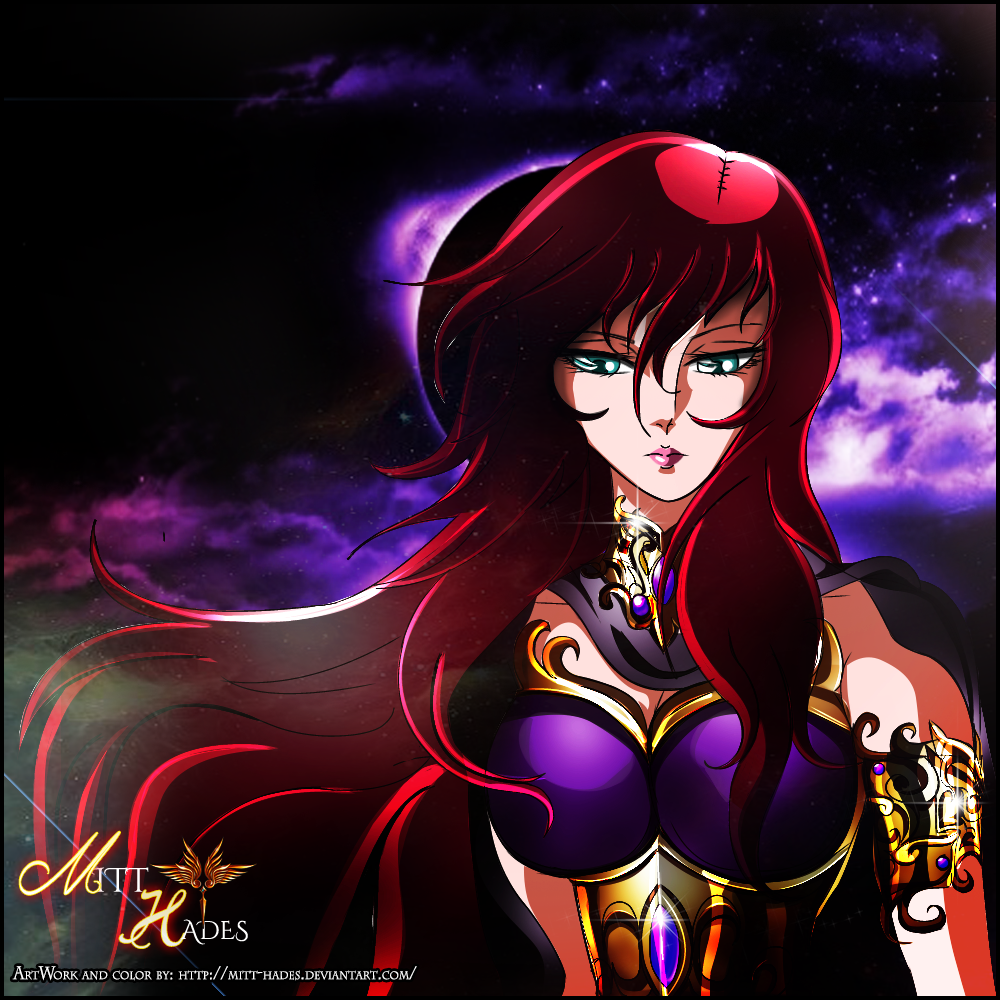 The Goddess Persephone Saint Seiya Online Version By Mitt