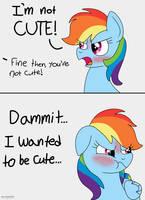 Rainbow Dash A Cutie