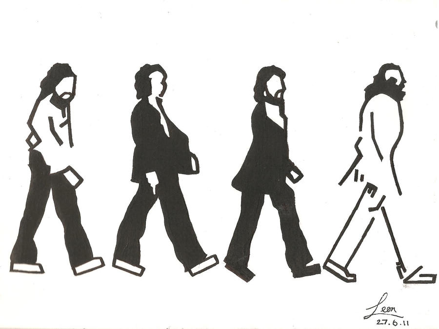 The beatles abbey road by lolzertron on deviantart for Beatles tattoo abbey road