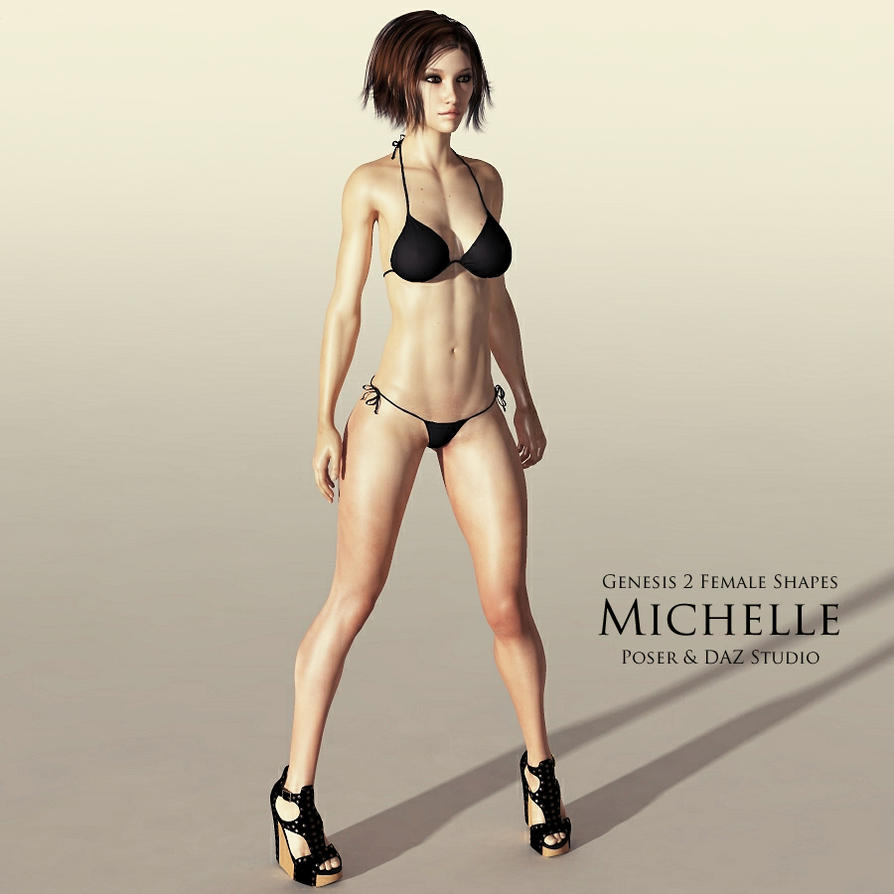 Genesis 2 Female Shapes: Michelle by adamthwaites