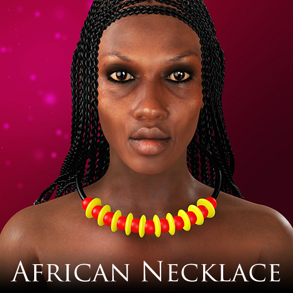 African Necklace by adamthwaites