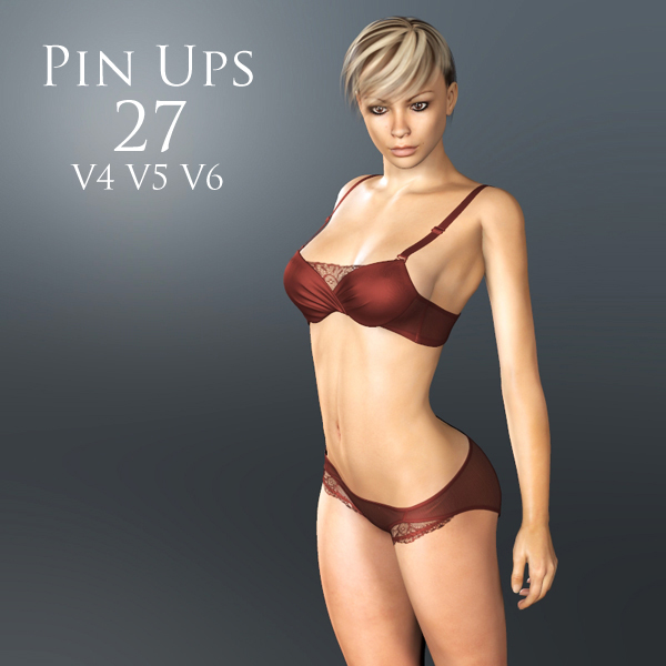 Pin Ups 27 by adamthwaites