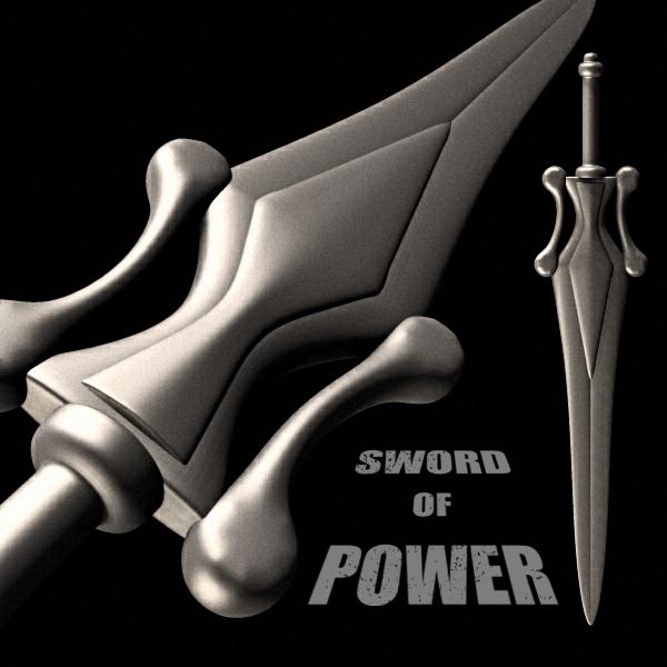 Sword Of Power by adamthwaites