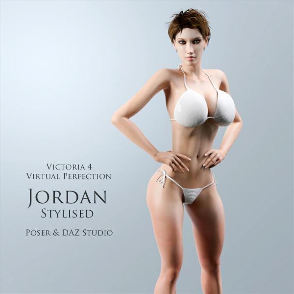 V4 Virtual Perfection: Jordan Stylised by adamthwaites