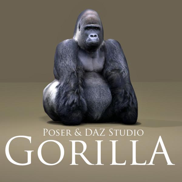 Gorilla by adamthwaites