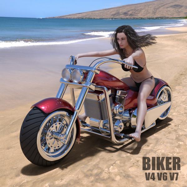 Biker by adamthwaites