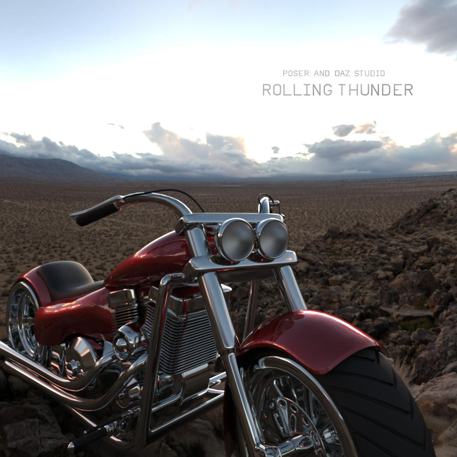 Rolling Thunder by adamthwaites