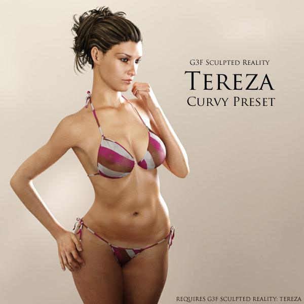 G3F SR: Tereza Curvy By Adamthwaites On DeviantArt