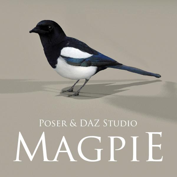 Magpie by adamthwaites