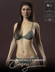 Anatomically Correct: Casey by adamthwaites